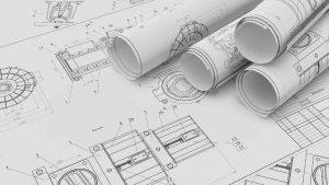 2D CAD Engineering Drawings