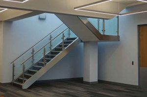 Custom Handrail with Capping