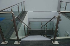 Stainless Steel Edge Protection and Handrail