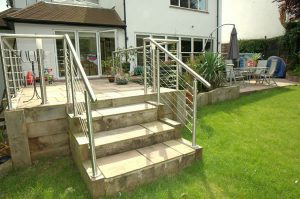 Handrail on Stairs and Veranda