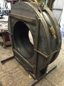 Rolled Mild Steel Turbine Cover