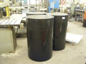 Tall Stainless Steel Cylinders
